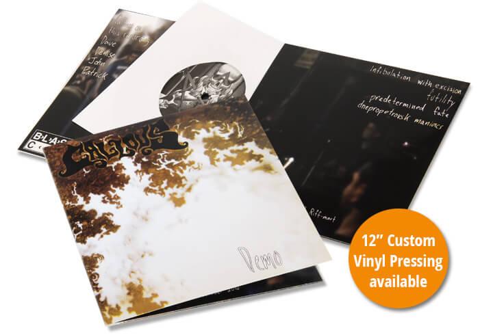 Custom Vinyl Records | Vinyl Pressing | CD Baby Manufacturing
